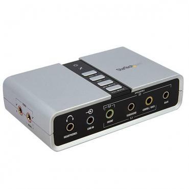 TARJETA DE SONIDO EXTERNA STARTECH 7.1 USB S-PDIF - Imagen 1