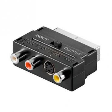 ADAPTADOR EUROCONECTOR M A RCA H - Imagen 1