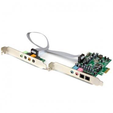 STARTECH TARJETA SONIDO PCI EXPRESS 7.1 24-192 - Imagen 1