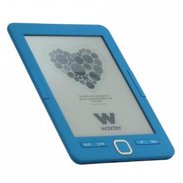 """E-BOOK WOXTER SCRIBA 195 6"""" 4GB E-INK AZUL - Imagen 1"""