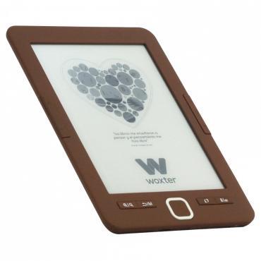 """E-BOOK WOXTER SCRIBA 195 6"""" 4GB E-INK CHOCOLATE - Imagen 1"""