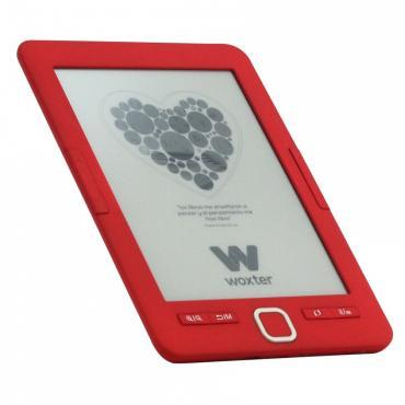 """E-BOOK WOXTER SCRIBA 195 6"""" 4GB E-INK ROJO - Imagen 1"""