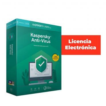 ANTIVIRUS ESD KASPERSKY 5 USUARIO LIC ELECTRO - Imagen 1