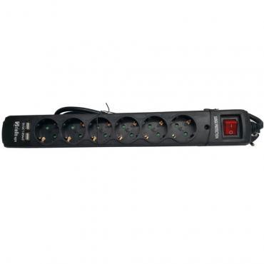 REGLETA PROTEGIDA RIELLO THUNDER 6002 6 TOMAS+USB - Imagen 1