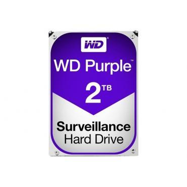 "DISCO DURO 3.5"" WESTERN DIGITAL 2TB SATA3 PURPLE - Imagen 1"