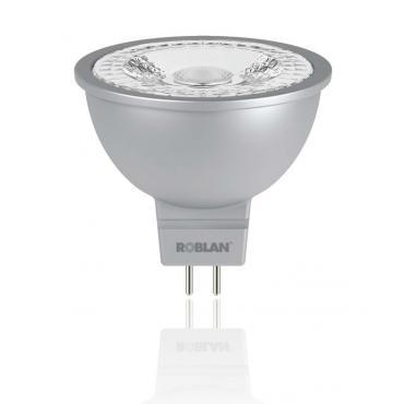 LED DICROICA ROBLAN SMD-6W-GU5.3-600LM-6500K-CA-12 - Imagen 1