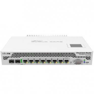 ROUTER MIKROTIK CLOUD CCR1009-7G-1C-1S+PC - Imagen 1