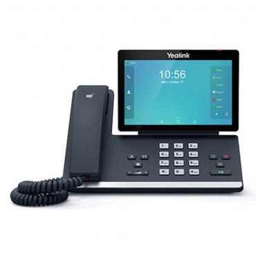 TELEFONO YEALINK IP POE T56A - Imagen 1