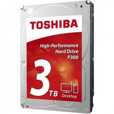 "DISCO DURO 3.5"" TOSHIBA 3TB P300 SATA3 7200RPM 64MB 6GB- - Imagen 1"