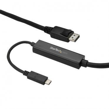 STARTECH CABLE 3M USB-C A DISPLAYPORT 4K60 NEGRO - Imagen 1