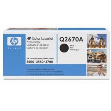 TONER HP Q2670A LJ 3500-3550-3700 NEGRO (6000PAG) - Imagen 1