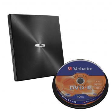 REGRABADORA DVD EXT. ASUS SLIM SDRW-08U9M-U BLACK - Imagen 1