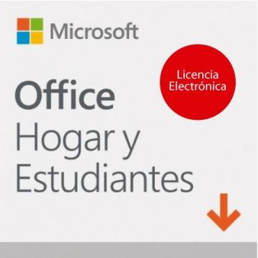 MICROSOFT OFFICE HOME AND STUDENT 2019 LIC ELE - Imagen 1