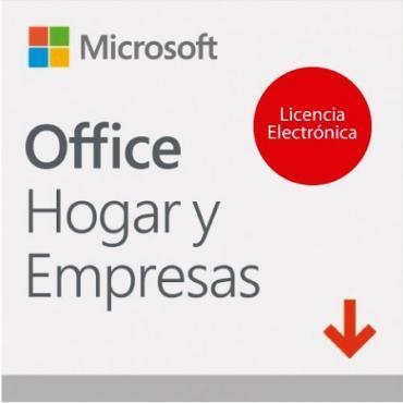 MICROSOFT OFFICE HOME & BUSINESS 1PC 2019 LIC ELEC - Imagen 1