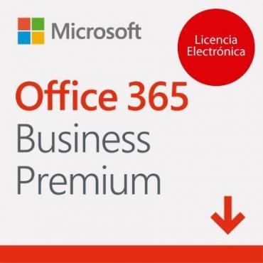 MICROSOFT OFFICE 365 BUSINESS PREMIUM LIC ELEC - Imagen 1