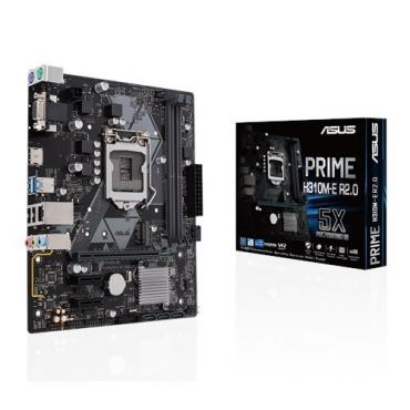 PLACA BASE 1151 ASUS PRIME H310M-E R2.0 MATX-DDR4-HDMI - Imagen 1