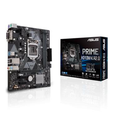 PLACA BASE 1151 ASUS PRIME H310M-K R2.0 MATX-DDR4- - Imagen 1