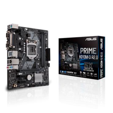 PLACA BASE 1151 ASUS PRIME H310M-D R2.0 MATX-DDR4-HDMI - Imagen 1