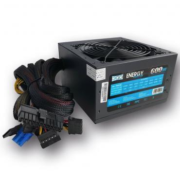 FUENTE ALIMENTACIÓN 600W PPFC 3GO (5XSATA+12CM+PCIX6PIN) - Imagen 1
