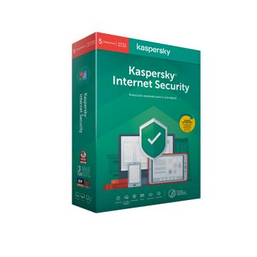 ANTIVIRUS KASPERSKY 2020 5 US INTERNET SECURITY (080) - Imagen 1