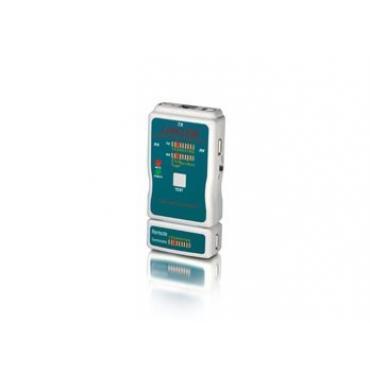 TESTER EQUIP RJ45-RJ11-RJ12-BNC-USB-RCA-COAXIAL - Imagen 1