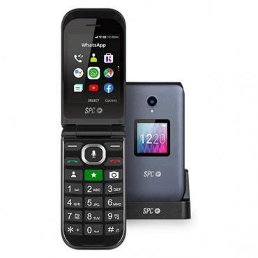 TELEFONO MOVIL SPC JASPER NEGRO - Imagen 1