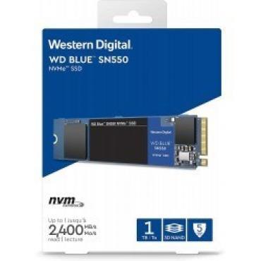 DISCO DURO SOLIDO SSD WD 1TB M.2 2280 NVME BLUE SN550 - Imagen 1