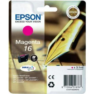 CARTUCHO EPSON 16 165PAG MAGENTA - Imagen 1