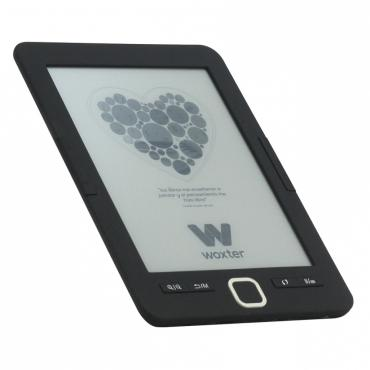 """E-BOOK WOXTER SCRIBA 195 6"""" 4GB E-INK NEGRO - Imagen 1"""