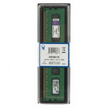 MEMORIA KINGSTON DDR3 8GB 1600MHZ CL11 - Imagen 1